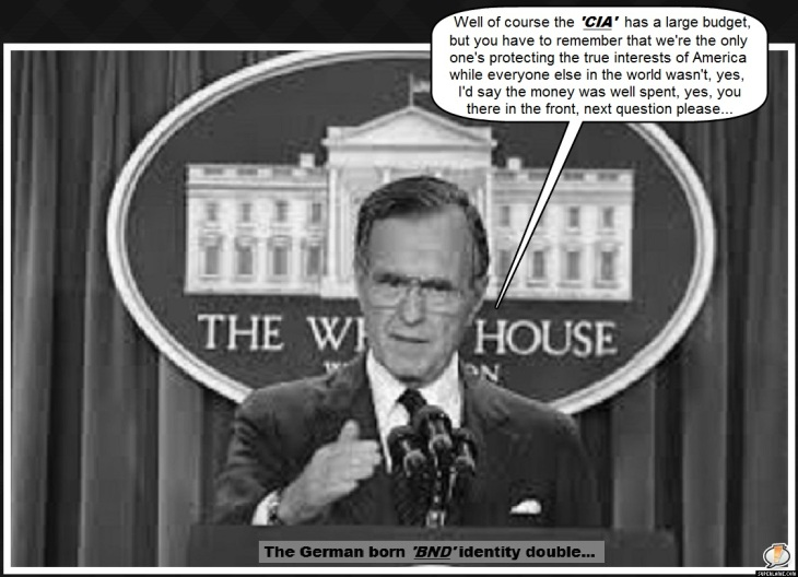 Bush 41 yes CIA next question please