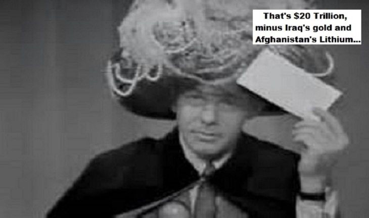 Carnac Johnny Carson Iraq's gold Afghanistan's Lithium (3)