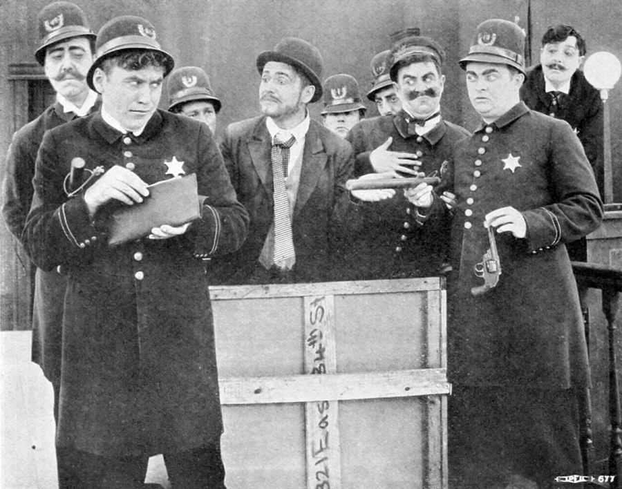 Tech #08, the Keystone Cops…