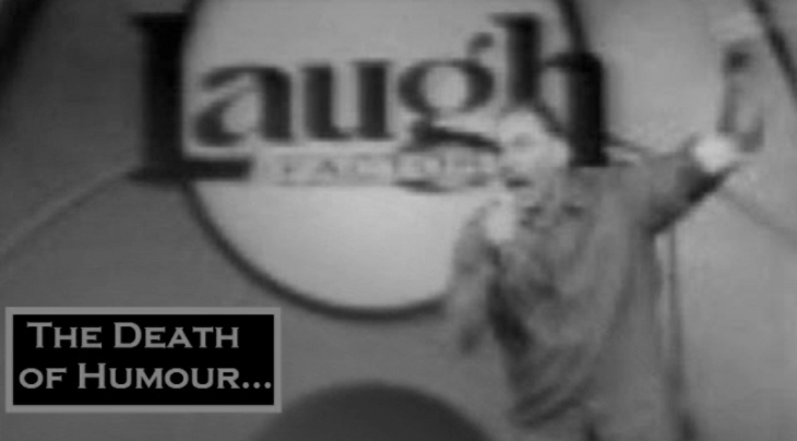 Michael Richards Kramer ~ Death of humor