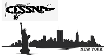 New York Cessna Pilot borderless 400