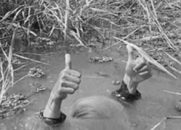 Swamp thumbs up