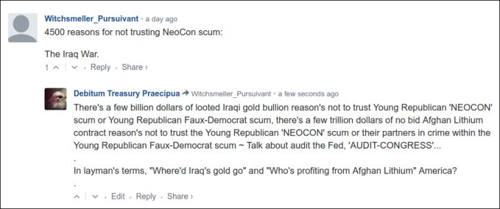 0005000 NEOCON SCUM
