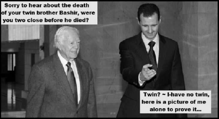 Bashir Assad Carter twin