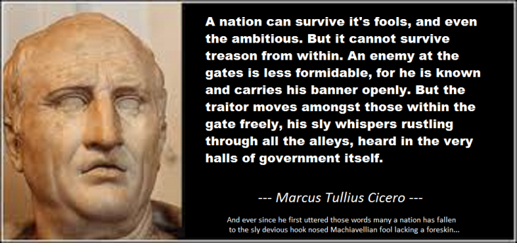 Cicero treason quote
