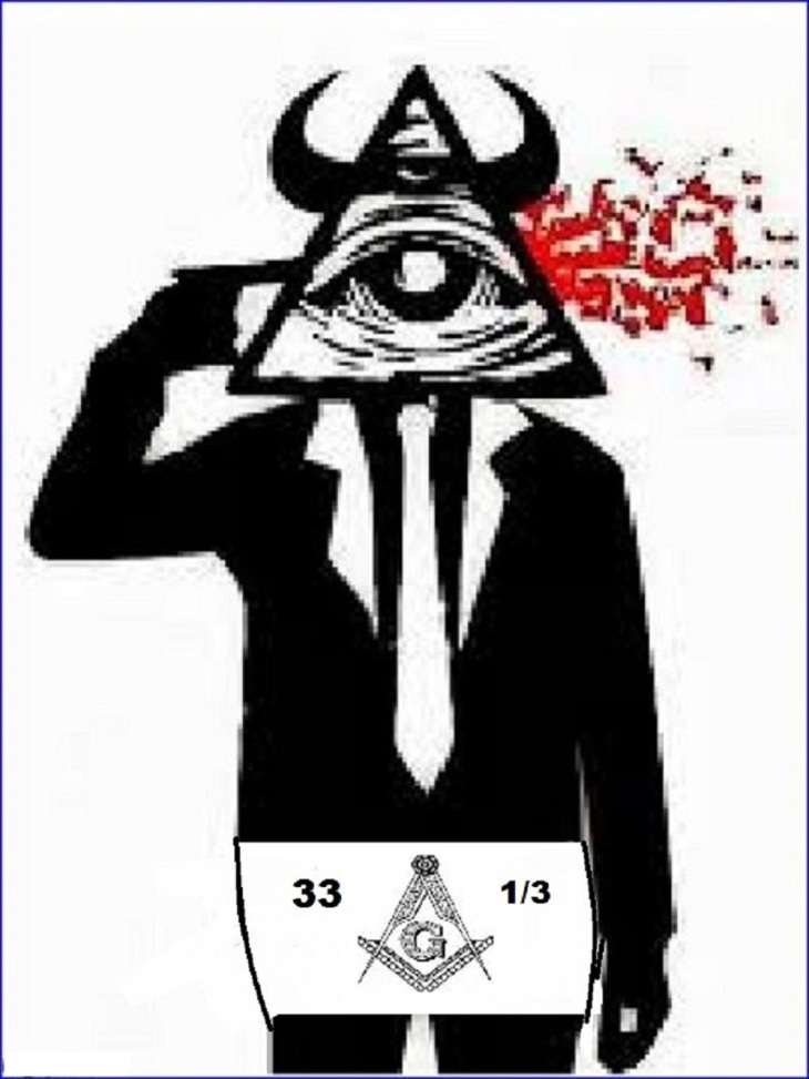 Freemason Illuminati Pyramid 33 (2)