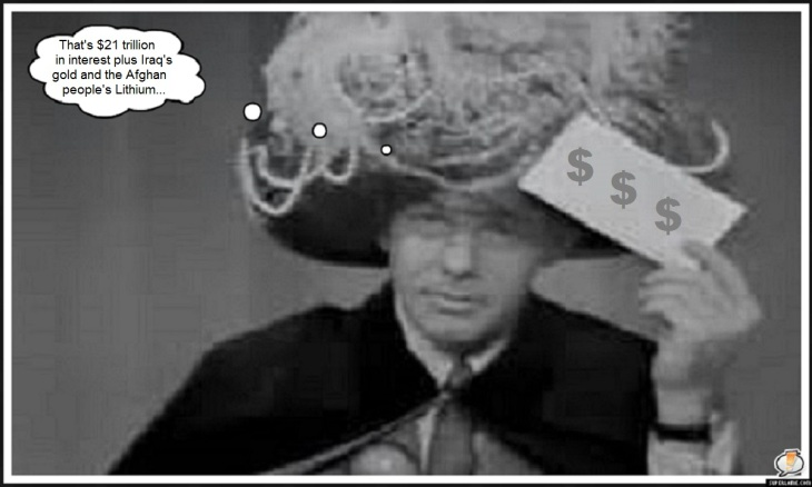 Johnny Carson Carnac Gold Lithium