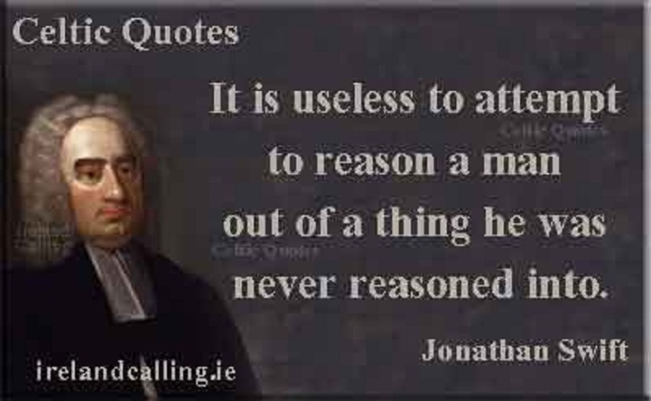 Jonathan-Swift CELTIC REASON QUOTE