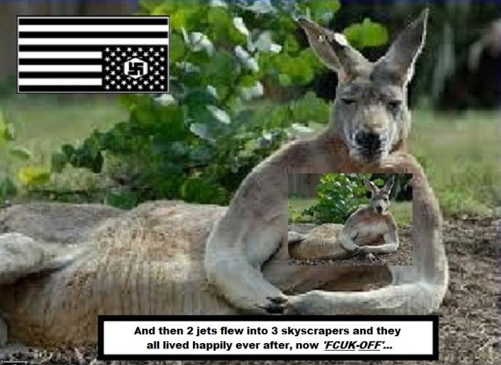 Kangaroo Nazi patriot BETTER