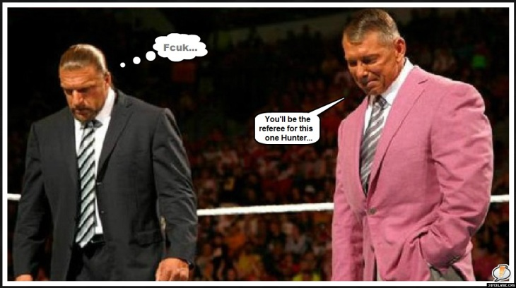 McMahon Hunter referee FCUK