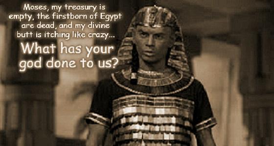Moses Pharaoh irchy butt Sepia 560