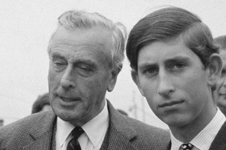 Mountbatten Charles Windsor and son Grey (2)