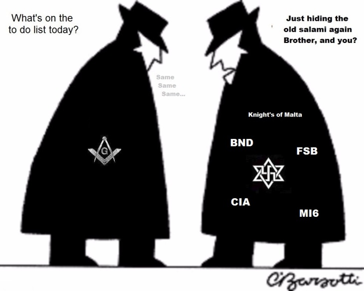 Spy agencies Knights of Malta