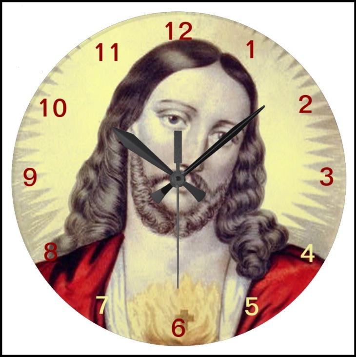 Thomas on a clock
