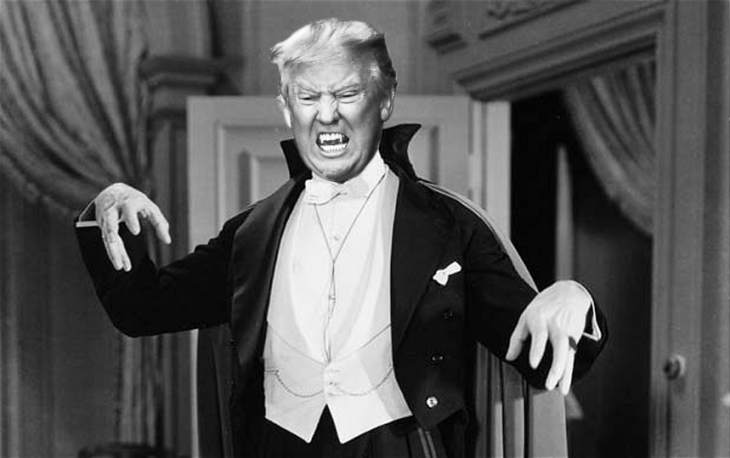 Trump as Dracular