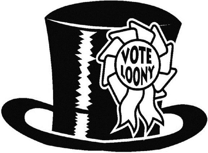 Vote Loony_Top_Hat_Emblem