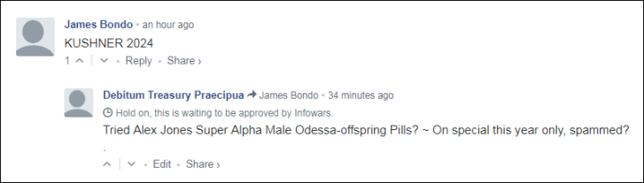 0006000 Alex Jones Odessa offspring pills