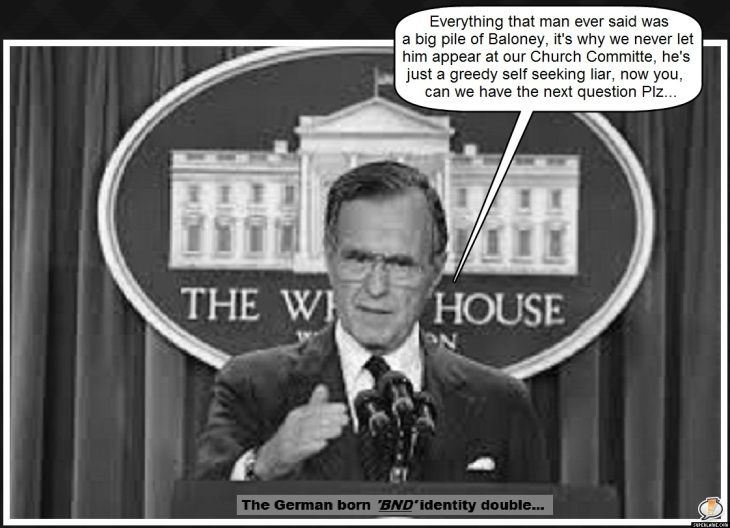 Bush 41 BND ~ Next question please