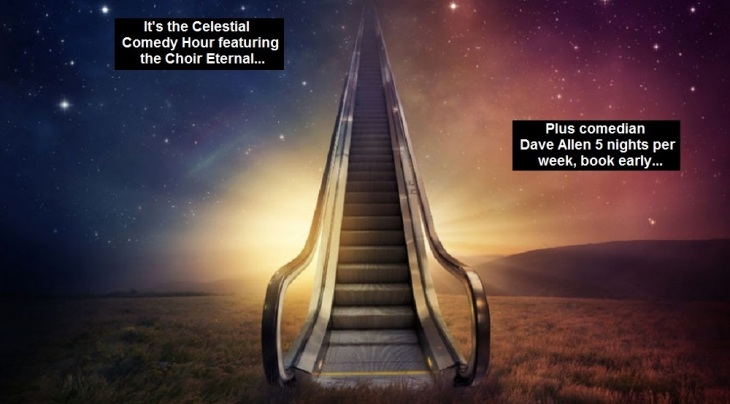 Celestial Choir comedy hour ~ Dave Allen