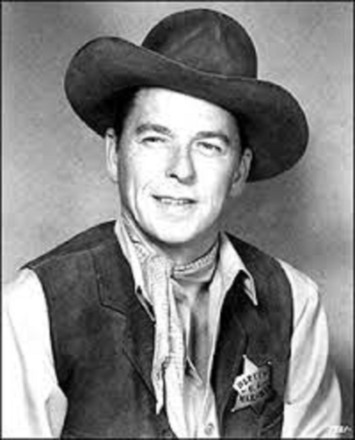 Cowboy Ron Reagan ~