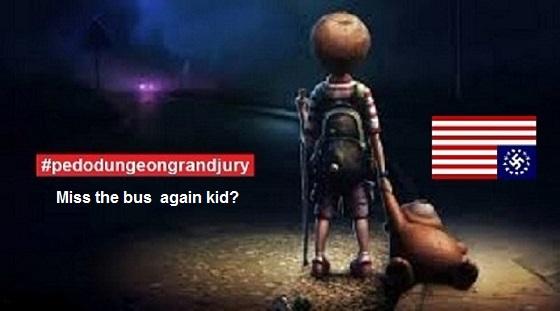 Nazi pedo dungeon grand jury miss the bus again 560