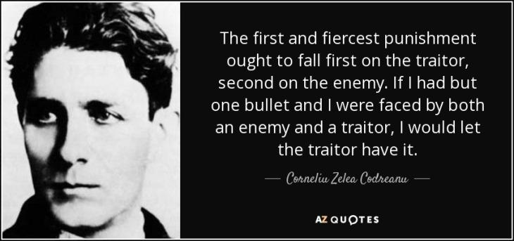 Nicolae Ceaușescu - The traitor