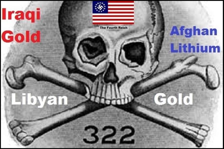 Skull and Bones Nazi 322 Iraqi Libyan gold Lithium BORDER 1000