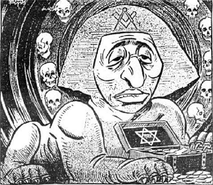 Sphynx Sphinx Zionj Zionist Gold Masonic