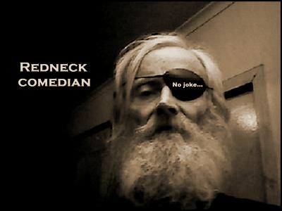 Redneck comedian Sepia 400