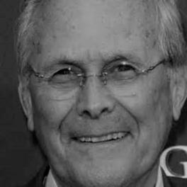 Rumsfeld darker BW
