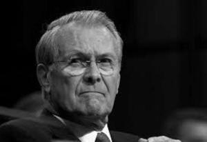 Rumsfeld stern dangerous doofus BW