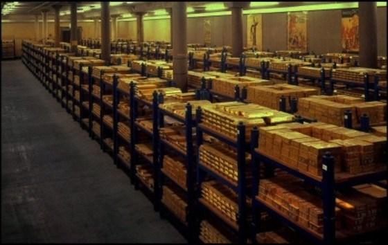 Stolen Libyan gold