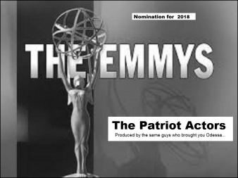 The emmy's Odessa PAtriot Actors BW With border