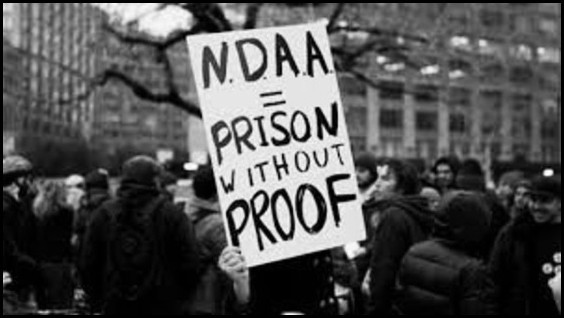 NDAA Prison without proof BW 560