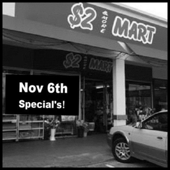 Nov 6th 2 dollar specials 560