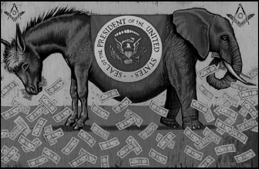 GOP DEM MASONIC MONEY MACHINE 520