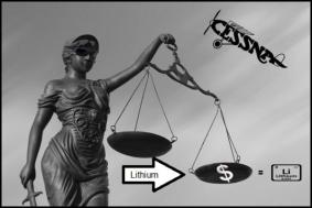 Lithium Afghan 600 Scales of justice