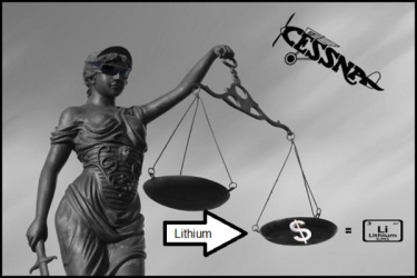 Lithium Afghan 600 Scales of justice