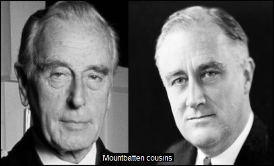Mountbatten Roosevelt COUSINS 560