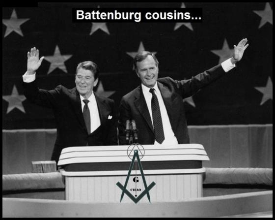 Ordo Ab Chaos Reagan Bush 560 Battenburg Cousins