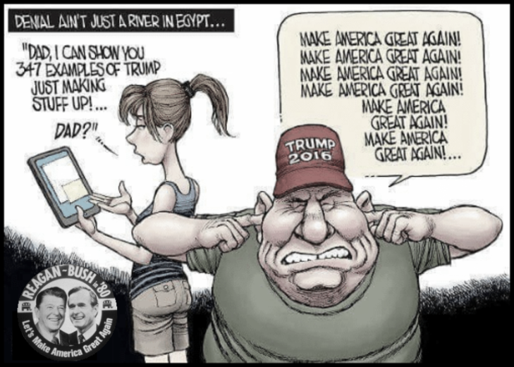 Reagan Bush Trump MAGA