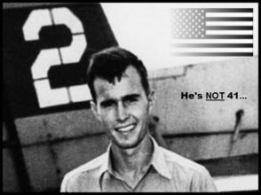 Bush # Two Ulrique the patriot ~ He's NOT 41