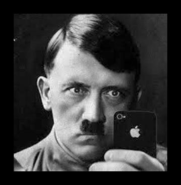 Hitler thicker border