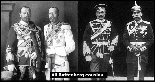 Kaiser King und Czar all Battenberg cousins 600