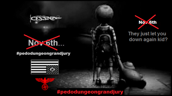 NOV 6 Pedo Dungeon BLACKED OUT 560 red strike thru