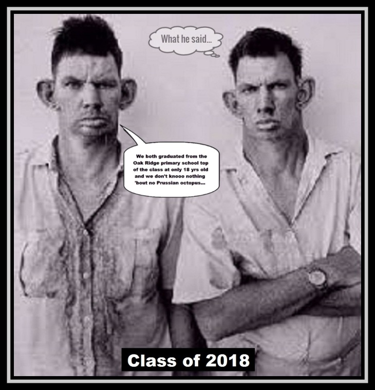 Oak Ridge inbred's ~ TOP OF THE CLASS