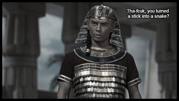Pharaoh Moses stick snake 600