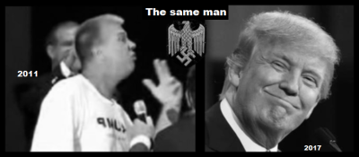 The Two (One) fake Trump's SAME MAN
