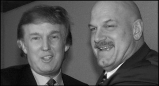 Original Trump and Ventura BW