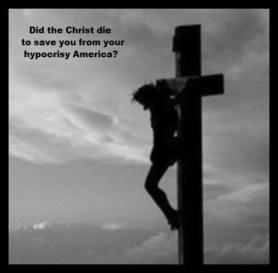 Christ cross hypocrisy 560 border